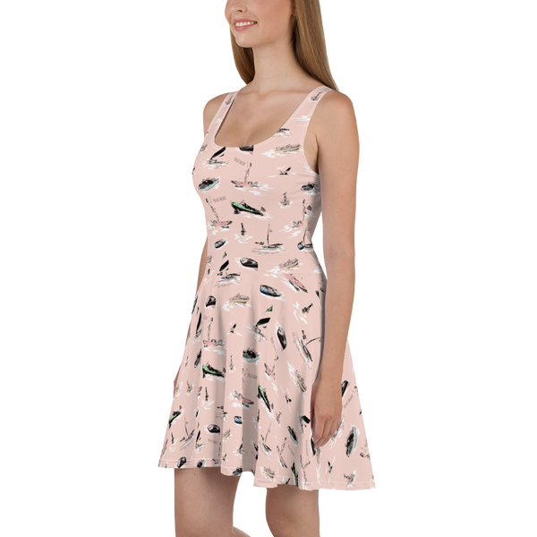 'Hello Sailor!' Skater Dress