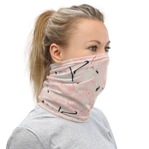 'Happy Flamingo' Unisex Neck Gaiter