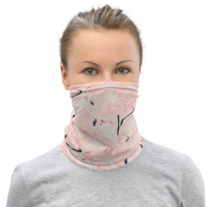 'Happy Flamingo' Neck Gaiter