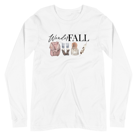 'WonderFALL' Unisex Long Sleeve Tee