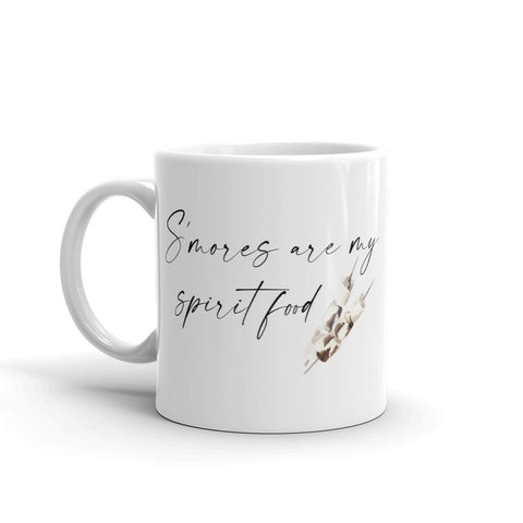 'S'mores Are My Spirit Food' Mug