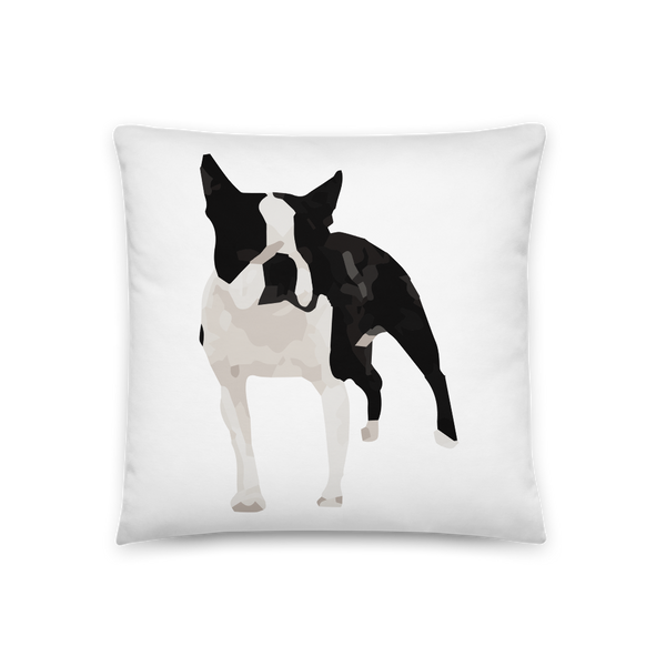 'Boston Terrier' Throw Pillow