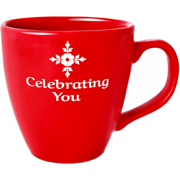Celebrating You Red Mug