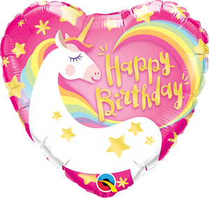 Happy Birthday Unicorn Heart
