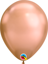 Load image into Gallery viewer, copper Chrome Metallic Balloon