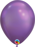 mauve Chrome Metallic Balloon