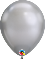 silver Chrome Metallic Balloon