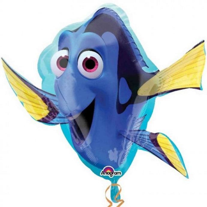 finding dory super shape foil balloon