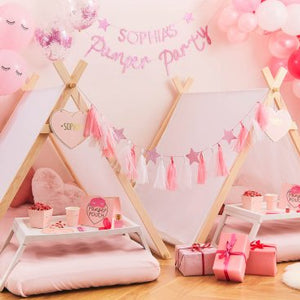 Pamper Party Personalised Bunting