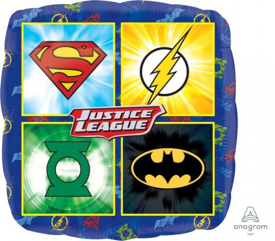 Square Justice League Foil