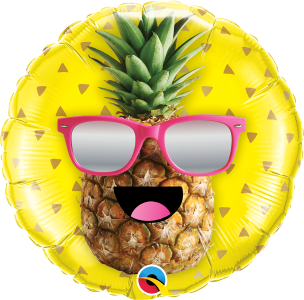 Mr Cool Pineapple Foil Balloon