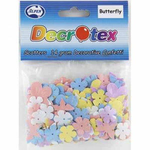 Pastel Butterfly/Flower Table Scatters (14gm)