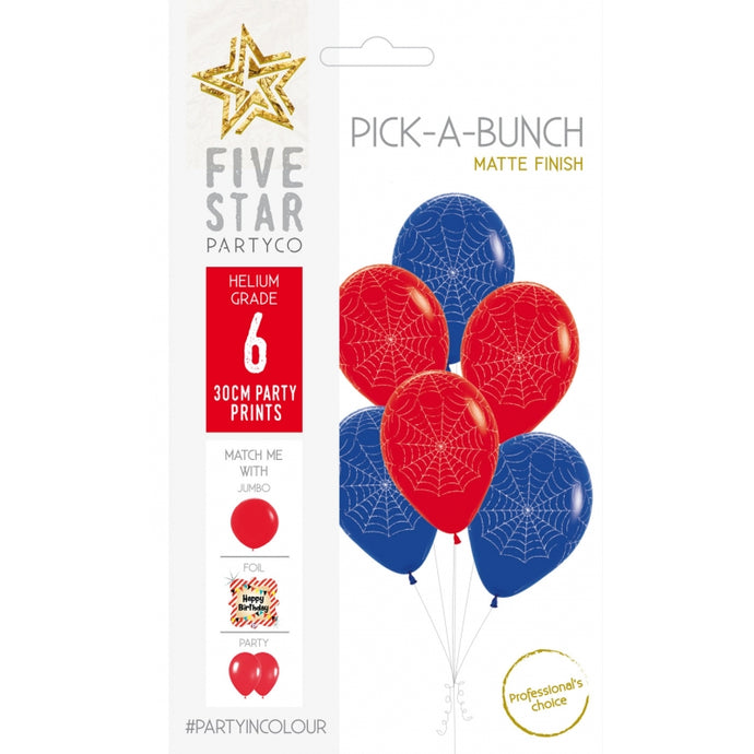 Spider Web Pick A Bunch 6pk