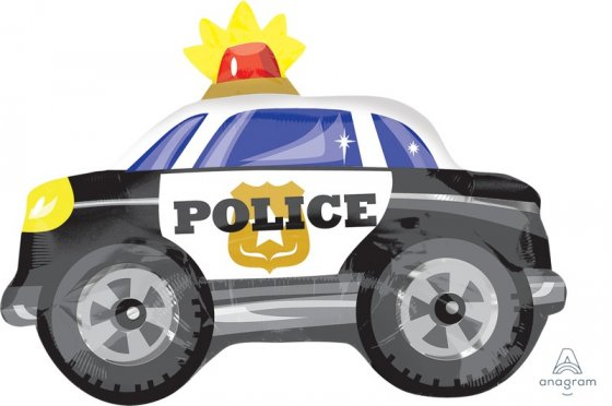Police Car Junior Shape
