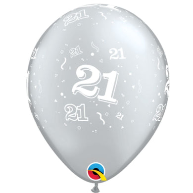 qualatex 21st balloon silver with white writing.jpg