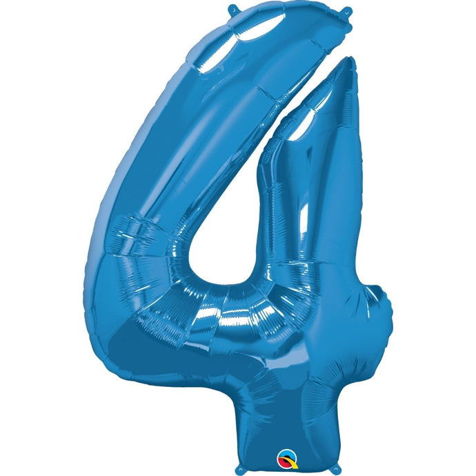 Qualatex Giant Foil Numbers blue