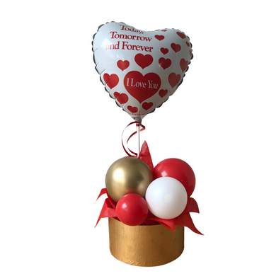 valentines day balloon gift