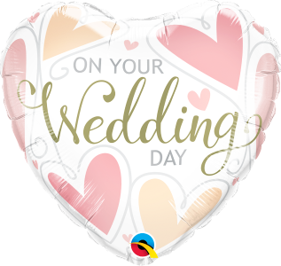 On Your Wedding Day Foil Balloon