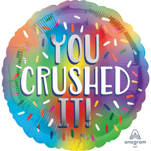 You Crushed It!