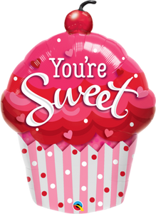 You're Sweet Cupcake Super Shape