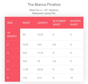 The Bianca Pinafore