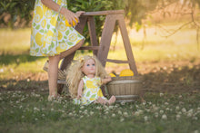 Load image into Gallery viewer, Lemon Dollie & Me Dress Set