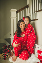 Load image into Gallery viewer, Red Snowflake Pajamas - Kids