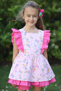 The Aurora Butterfly Pinafore