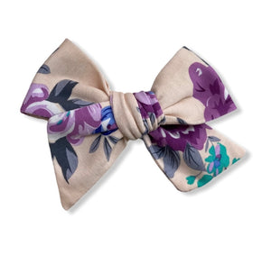 The Fiona Hand Tied Hair Bow
