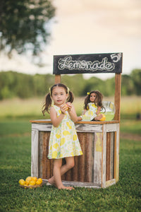 Lemon Dollie & Me Dress Set