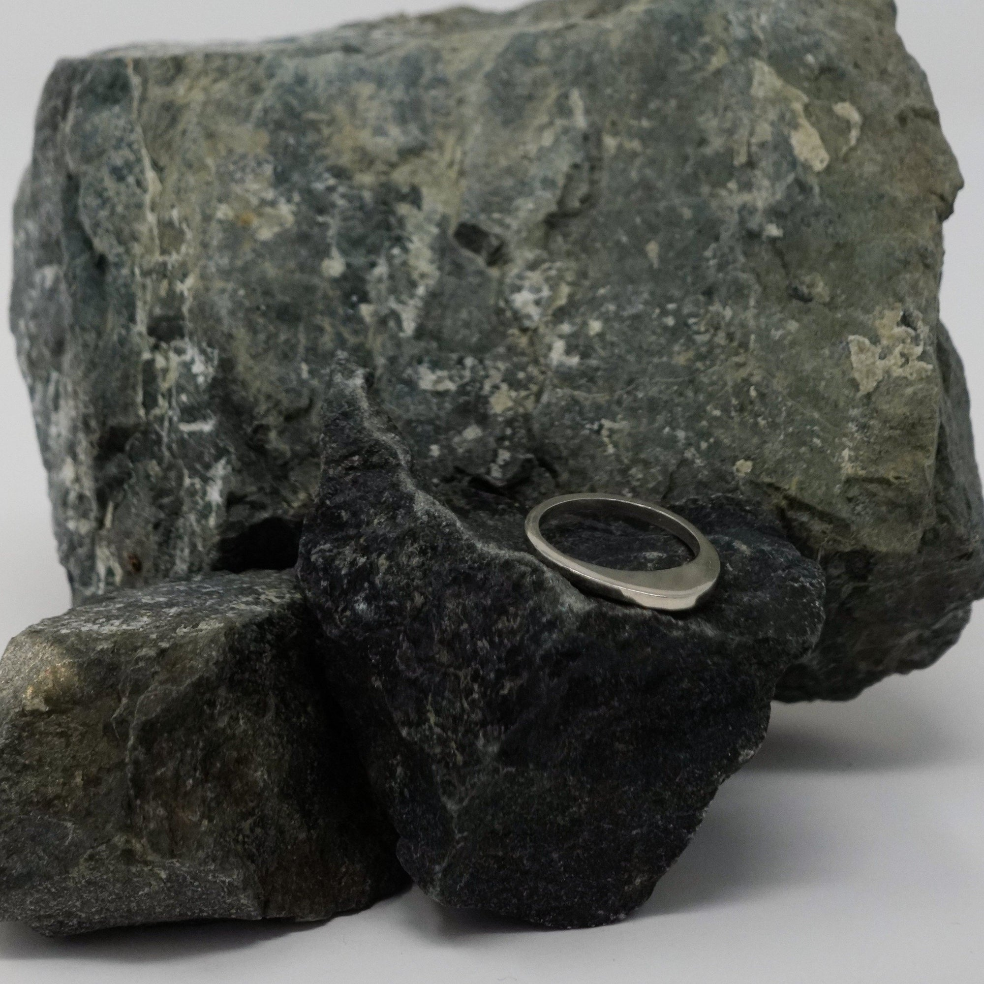 Alexa Johnston - Jewelry - Structural Ring - Lrg. Rounded