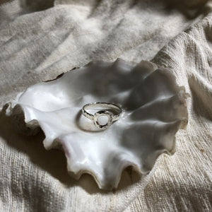 Mellow Moon Jewelry: Silver Circle Ring