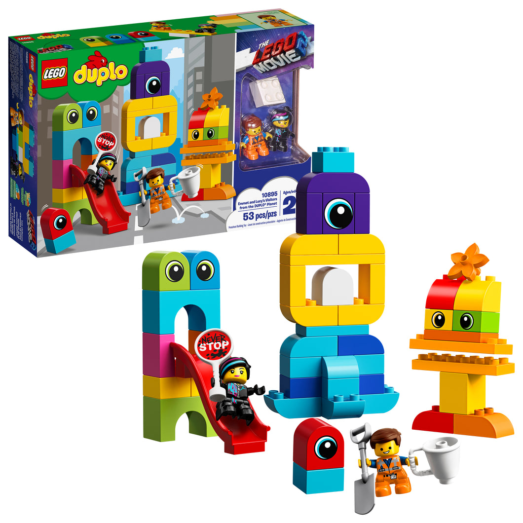 THE LEGO® MOVIE 2™ Emmet and Lucy's Visitors from the DUPLO® Planet - 10895