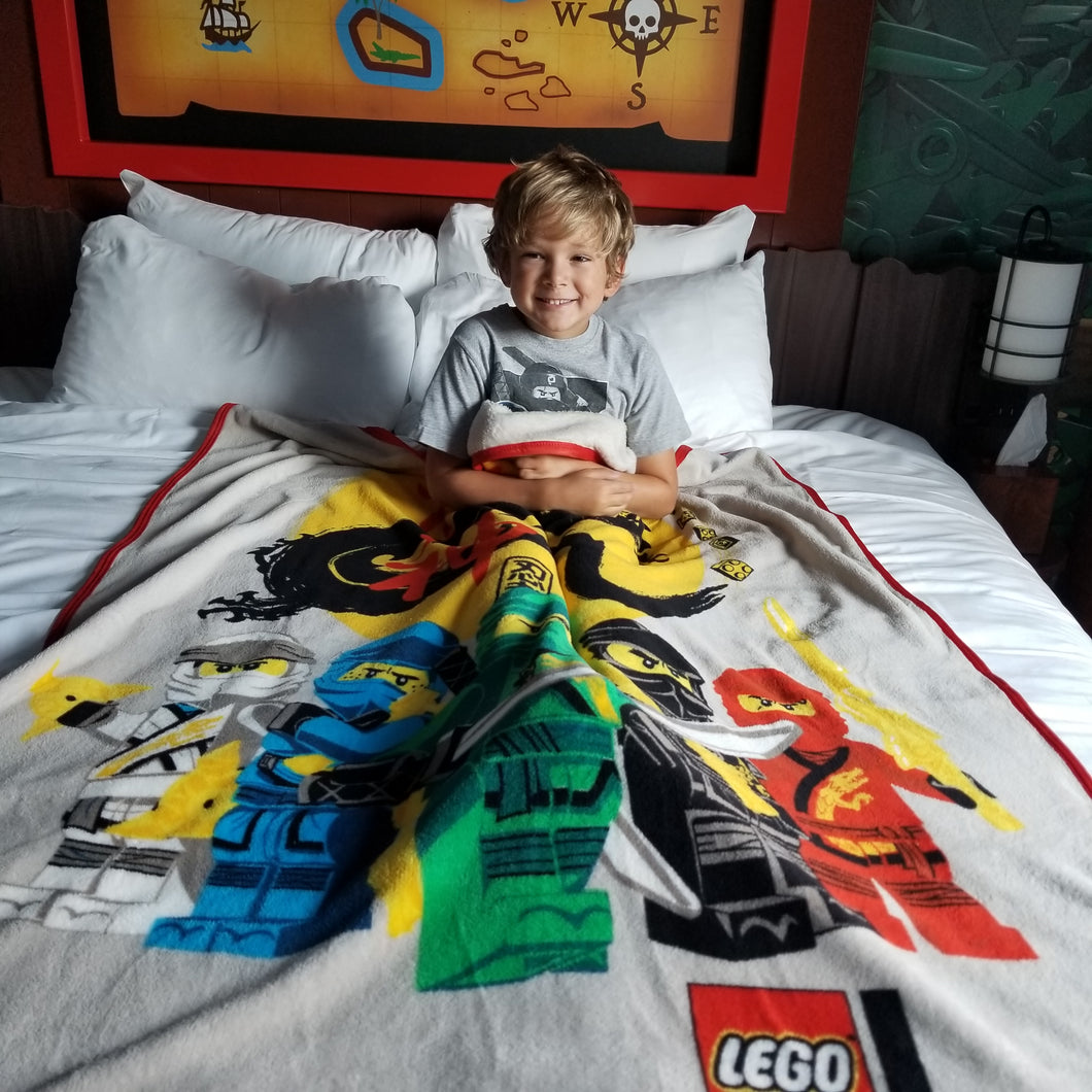 LEGO® NINJAGO® Year of the Dragon Plush Throw - Save $5!