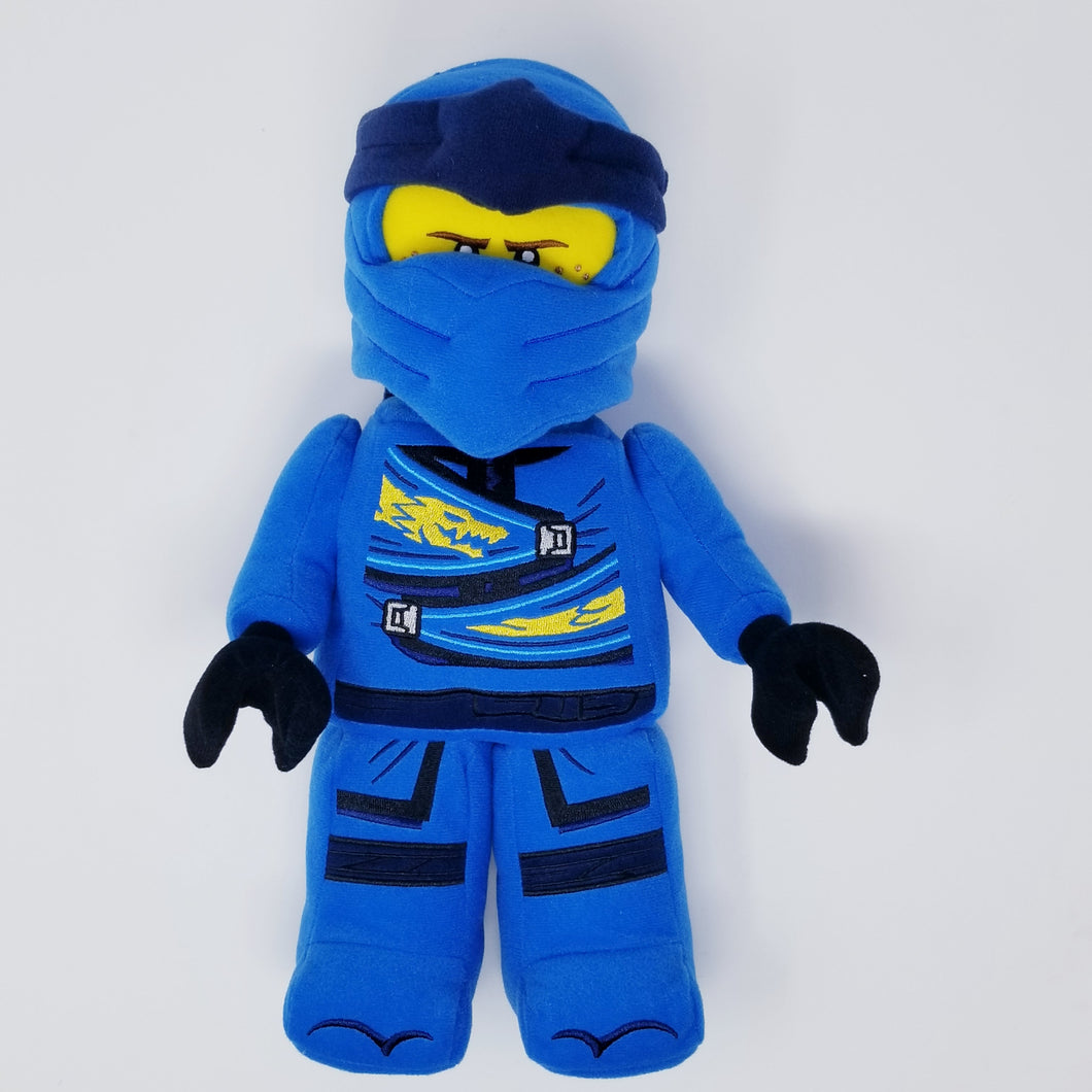 LEGO® NINJAGO® Jay  Minifigure Plush - SAVE $5