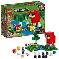 LEGO® Minecraft™ The Wool Farm - 21153