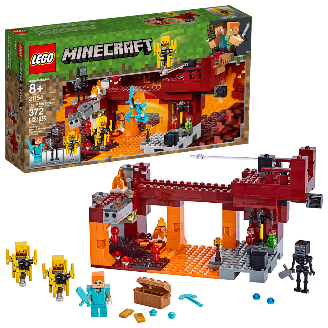 LEGO® Minecraft™ The Blaze Bridge - 21154