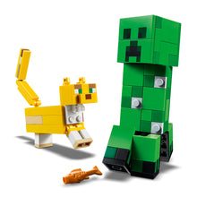 Load image into Gallery viewer, LEGO® Minecraft™ BigFig Creeper™ and Ocelot-21156