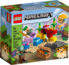 Load image into Gallery viewer, LEGO® Minecraft™ The Coral Reef - 21164