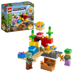 LEGO® Minecraft™ The Coral Reef - 21164