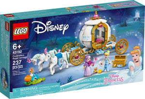 LEGO® Disney Cinderella's Royal Carriage - 43192
