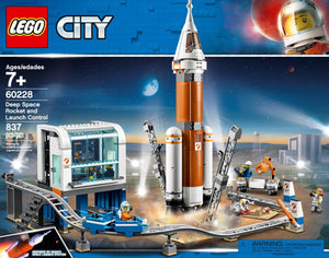 LEGO® City Deep Space Rocket and Launch Control - 60228