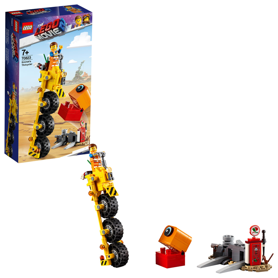 THE LEGO® MOVIE 2™ Emmet's Thricycle! - 70823