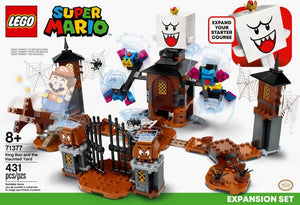LEGO® Super Mario™ King Boo and the Haunted Yard Expansion Set - 71377