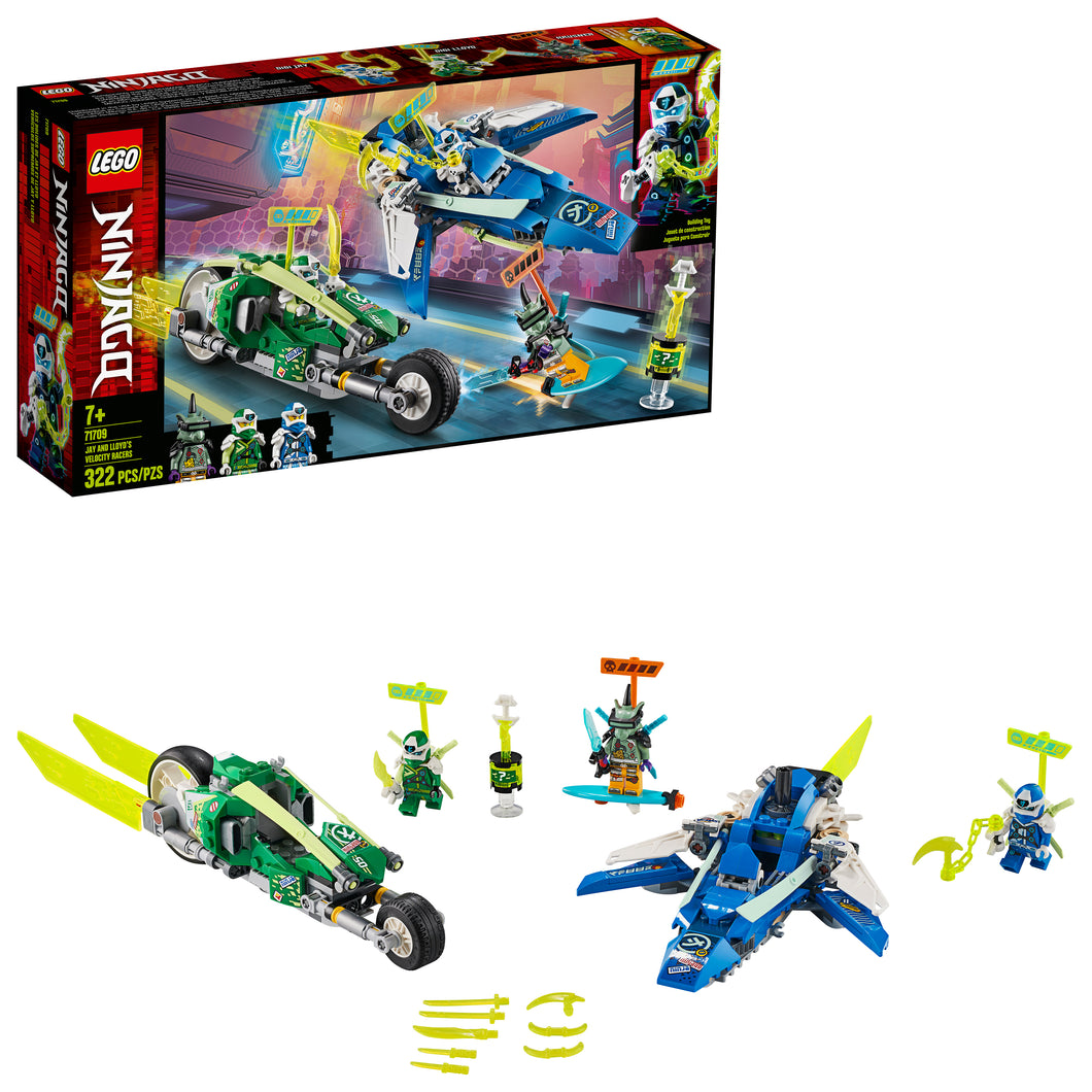 LEGO® NINJAGO® Jay and Lloyd's Velocity Racers - 71709 - SALE