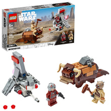 Load image into Gallery viewer, LEGO® Star Wars™ T-16 Skyhopper™ vs Bantha™ Microfighters - 75265