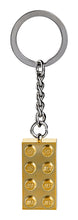 Load image into Gallery viewer, 2x4 Gold Brick Keychain