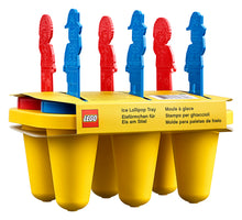 Load image into Gallery viewer, LEGO® Brick Ice Popsicle Tray - 853912