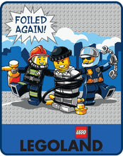 Load image into Gallery viewer, LEGO® CITY Foiled Again Plush Throw