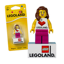 Load image into Gallery viewer, LEGOLAND® EXCLUSIVE! Girl Magnet - 851331